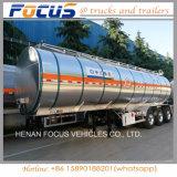 40, Tri-Axle 000L алюминиевого сплава топлива топливозаправщика трейлер Semi