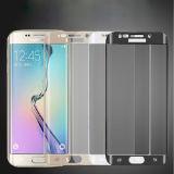 Protezione reale completa dello schermo di vetro Tempered per il bordo della galassia S6 di Samsung
