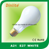 A21 - B22 E27 Lâmpada incandescente