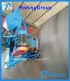 Qgw la machine de nettoyage d'injection de mur extérieur de pipe en acier