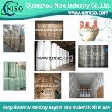 中国の赤ん坊のおむつの原料の製造者