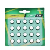 Цинковые батареи таблеточного марганца LR44
