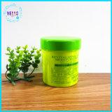 毛のクリームのための260g円形のプラスチック瓶の装飾的な容器