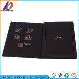 Kundenspezifisches Flachgehäuse-Papier-magnetischer Papierbuch-geformter Geschenk-Kasten