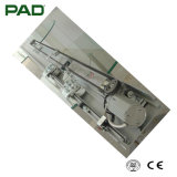 La puerta deslizante con el tipo resistente tecnología con el motor 80W cargó el peso de cristal de la puerta 300kg