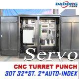 Dadong D-Es300 Rexroth 또는 시멘스 또는 Fanuc 시스템 CNC 포탑 펀치 기계