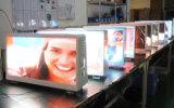 Alta luminosità Oudoor che fa pubblicità visualizzazione a LED del tassì P5/automobile/scheda superiori del segno
