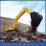 0.6m&sup3の中国のセリウムの公認油圧動かされた掘削機; バケツ