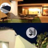 防水屋外18LED太陽壁ライト庭の塀の景色の機密保護ランプ