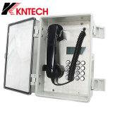 Koontechの防水湿気の防止の塵の証拠の非常電話Knsp-22