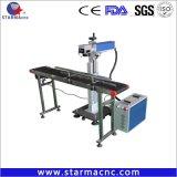 80kgs 3000-4500USD 광고를 위한 싼 섬유 Laser 표하기 기계