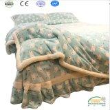 Оптовый комплект одеяла кровати зимы двойных слоев супер толщиной
