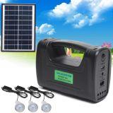 3PCS太陽ランプによって移動式充満を用いる太陽エネルギーシステムホーム3W 5W太陽系