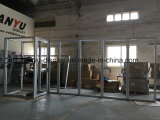 Cabine de exposições de alumínio portátil com sistema de porta