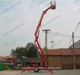Le travail de l'antenne Pull-Behind de remorque hydraulique de relevage de flèche