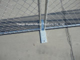 El panel portable galvanizado de la cerca del acoplamiento de alambre de las ovejas, el panel de la cerca del acoplamiento soldado, el panel temporal portable de la cerca de la construcción