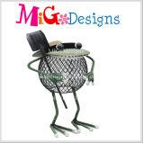 Оптовый дешевый симпатичный радушный декор сада металла лягушки