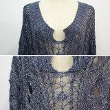 Diseño especial de la mujer jersey de escote Water-Drop