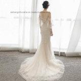 Любовь может быть прекрасным Красивый кружевной женщин дамы свадебные платья