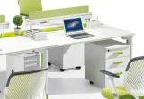 고품질 현대 디자인 움직일 수 있는 컴퓨터 책상 직원 테이블