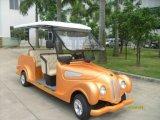 Automobile di batteria classica facente un giro turistico elettrica delle 6 sedi