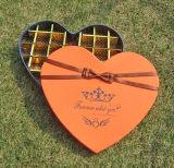 愛情のある中心の形チョコレート包装ボックス