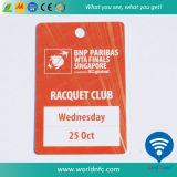 工場価格の標準外PVC/Plasticによって型抜きされるカード