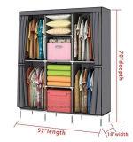 현대 간단한 옷장 가구 직물 접히는 피복 병동 저장 회의 특대 증강 조합 간단한 옷장 (FW-38)