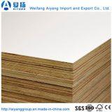 屋内家具のための無地または木穀物のメラミン合板
