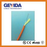 Intérieur/Extérieur Câble à fibre optique délié Tube avec veste PP