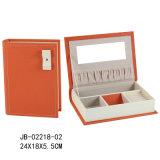 Caisse Enveoope-Conçue Ordinaire Orange de Déplacement Gentille de Bijou de Caisse de Bijou
