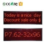 Pubblicità a più linee programmabile/riga che sposta il segno del LED con la comunicazione P7.62-32X96 di RS232/USB/RF