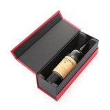 アルコール飲料のびんのワインのギフトのペーパー板紙箱の包装