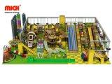 Multifuncional de jogos para crianças playground coberto com equipamentos desliza
