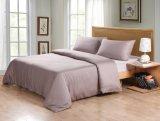 300TC 100 % de fibre de bambou Housse de couette Définir la couleur grise