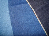 Jacquard Camouflage Design Indigo Denim Fabric