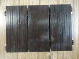 Suelo de bambú tejido hilo sólido durable para el cuarto de baño