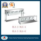 Hla-5 5-Lamp Prüftisch-Oberseite-Wärmer für Buffet