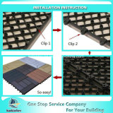 Плитки пола сопротивления DIY выскальзования плитки настила WPC DIY блокируя