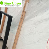 Lastra di marmo bianca di pietra naturale di vendita calda per il pavimento della sala da pranzo