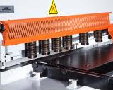 Máquina de corte da placa hidráulica, máquina de corte CNC
