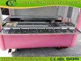 remolque de manera linda carrito de comida de color rosa con configuración diferente