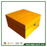 Embalagem personalizada de luxo Caixa de relógio de madeira