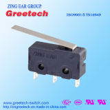 Mini Elektro Micro- Schakelaar met de Hefboom van Drie Spelden voor de ElektroAuto van Apparaten