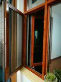 Gute Qualitätspreiswerter Preis-hölzernes Flügelfenster-Aluminiumfenster