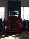 Neumáticos sólidos de goma de 4 capas que curan la máquina que moldea de la prensa/del neumático sólido/a prensa de vulcanización del neumático de goma