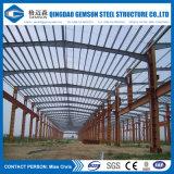 Edificio compuesto de la estructura de acero del panel