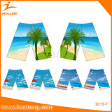Shorts coloridos personalizados por atacado da praia do Sublimation de Healong
