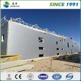 Taller prefabricado del almacén del edificio de la estructura de acero por la viga de H
