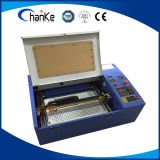 Minilaser-Gravierfräsmaschine für Plastikholz MDF-Stich